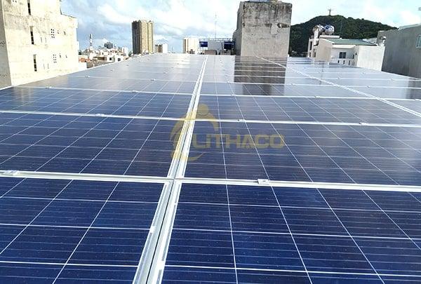 Lắp đặt pin Năng lượng mặt trời 10KWP - Khách sạn Ruby, Vũng Tàu