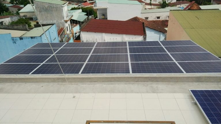 Lắp đặt pin Năng lượng mặt trời 5 kWp -  Nhà chị Hạnh, Đồng Nai