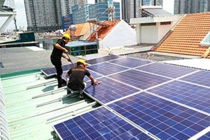 Lắp đặt pin Năng Lượng Mặt Trời Hòa Lưới 5 kWp - chú Hiền, quận 7