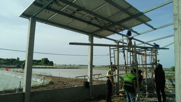Lắp đặt pin Năng lượng mặt trời hệ độc lập 3KWP - ANH DU, BẠC LIÊU