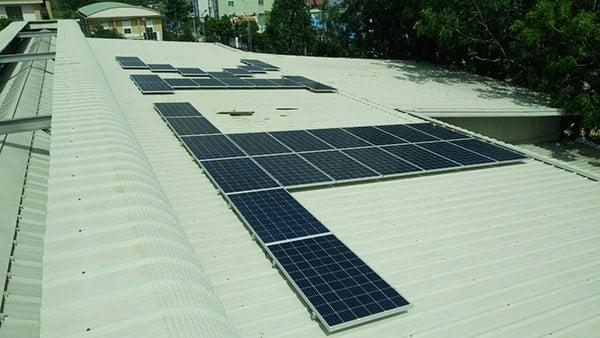 Điện mặt trời doanh nghiệp - tổ chức