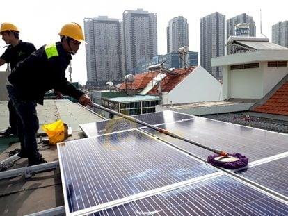 Hộ lắp điện mặt trời được hỗ trợ đến 9 triệu đồng