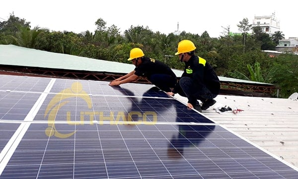 Lắp đặt pin Năng lượng mặt trời 3kWp -  Đoàn Anh Kiệt, Đồng Tháp