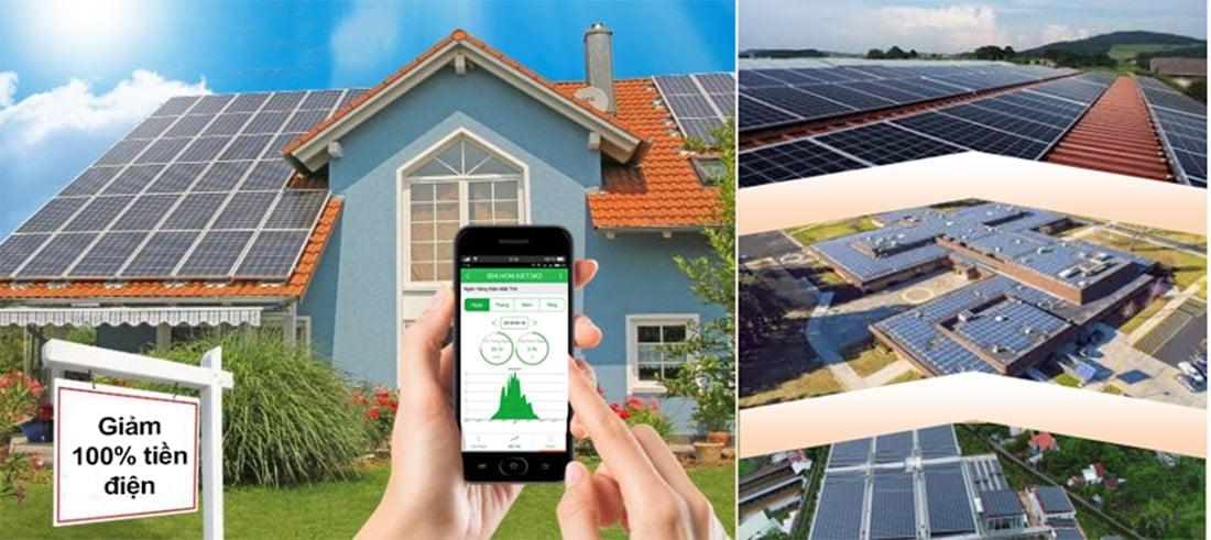 Điện mặt trời tương tác lưới