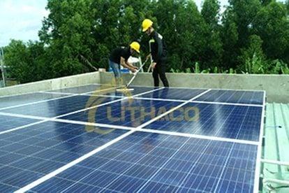 Lắp đặt pin Năng lượng mặt trời 3 kWp -  Nhà chú Hùng, Long An