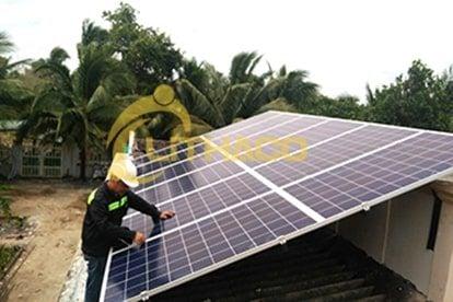 Lắp đặt pin Năng lượng mặt trời 3 kWp -  Nhà nuôi yến, Long An