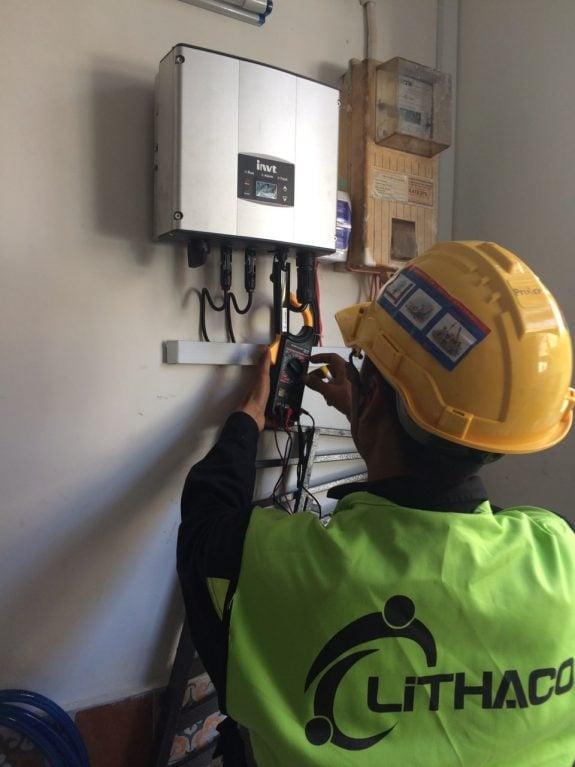 Lắp đặt pin Năng lượng mặt trời 5 kWp -  Nhà chú Kiệt