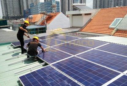 Chương trình Tài trợ cho Khách hàng Doanh Nghiệp Lắp đặt dự án điện mặt trời trên mái nhà