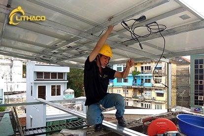 Lắp đặt pin Năng lượng mặt trời 5 kWp -  Nhà anh Đỉnh