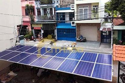 Lắp đặt pin Năng lượng mặt trời 7.5 kWp -  Nhà anh Bình, Tân Phú