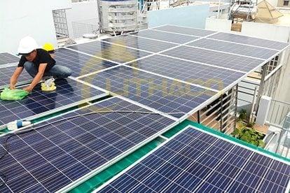 Lắp đặt pin Năng lượng mặt trời 5 kWp -  Nhà anh Thạnh