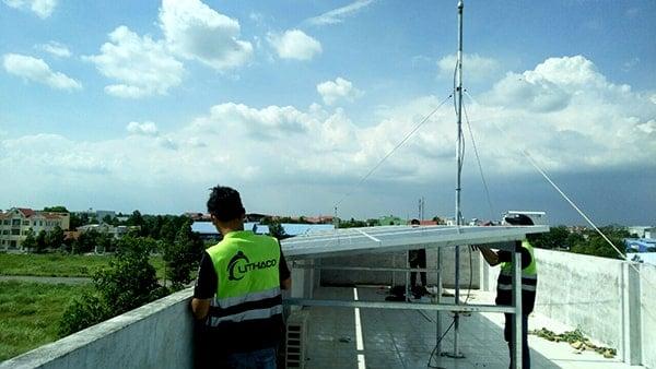 Lắp đặt pin Năng lượng mặt trời 3kWp – Lê Văn Tỵ, Cần Thơ
