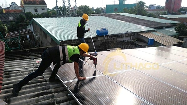 Lắp đặt pin mặt trời 5 kWp – Ngô Văn Phê, Long An