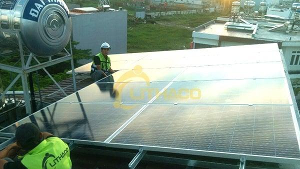 Lắp đặt pin Năng lượng mặt trời 3kWp – Võ Thị Dung, Q12 TP.HCM