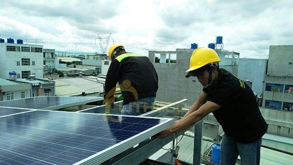 Điện mặt trời nối lưới 3 kWp
