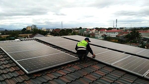 tìm hiểu về Hệ thống điện mặt trời nối lưới