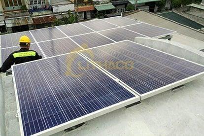 Lắp đặt pin mặt trời 3 kWp – Trịnh Kiên Dũng, Q.Bình Tân TP.HCM