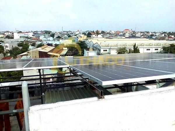 Lắp đặt pin mặt trời 20 kWp – Khách sạn Dạ Lan - Bình Dương