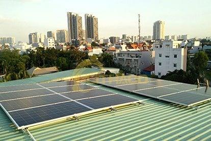 Lắp đặt pin Năng lượng mặt trời 5kWp – Cao Thị Nhất Phương, Thảo Điền Q2 - TPHCM