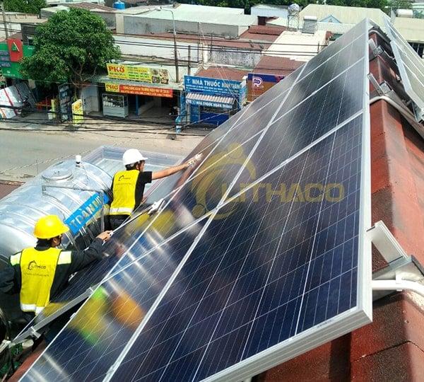Lắp đặt pin Năng lượng mặt trời 6kWp – Đặng Thị Luyến, Biên Hòa-Đồng Nai
