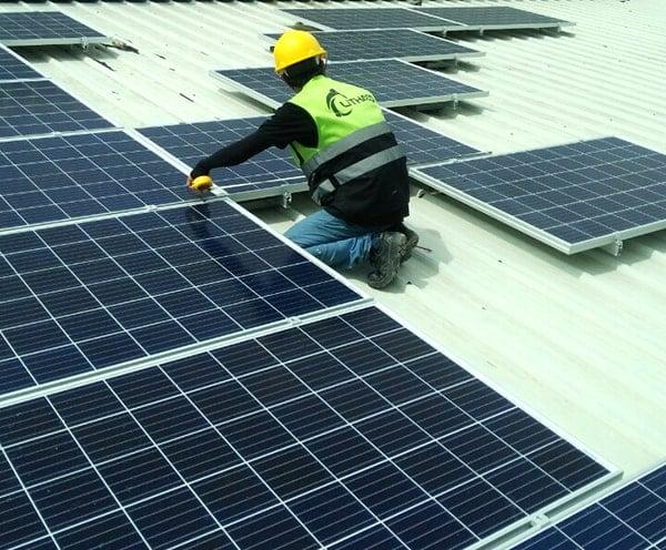 Lắp đặt pin Năng lượng mặt trời 10kWp – Nhà xưởng Tân Kim, Q12 TP.HCM