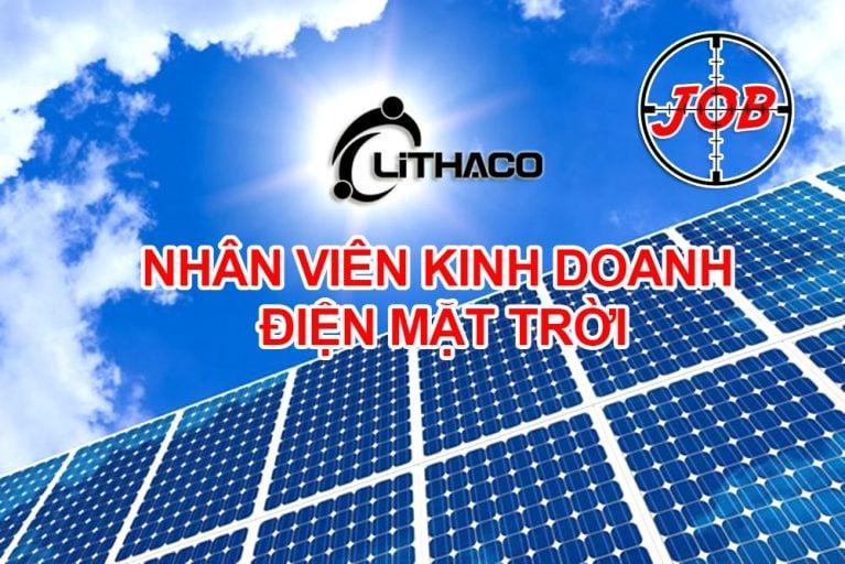 Nhân viên kinh doanh điện mặt trời