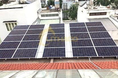 Lắp đặt pin mặt trời 10 kWp – Công ty TNHH dược phẩm Hồng Mai – Cần Thơ