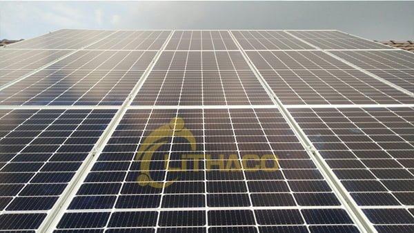 Lắp đặt hệ thống điện mặt trời 8kwp ở Thốt Nốt Cần Thơ