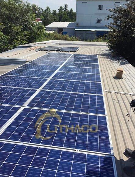 Lắp đặt hệ thống điện mặt trời hệ 8 KWp TP. Cao Lãnh