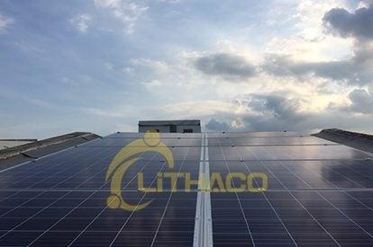 Lắp đặt hệ thống điện mặt trời 12 KWp tại tp Cao Lãnh, Đồng Tháp