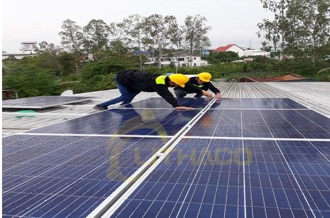 hệ thống năng lượng mặt trời 3kW