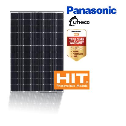 Pin năng lượng mặt trời Panasonic Panel 325kWp - Công Nghệ HIT