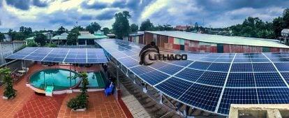 Tạm ứng hỗ trợ lắp đặt điện mặt trời mái nhà
