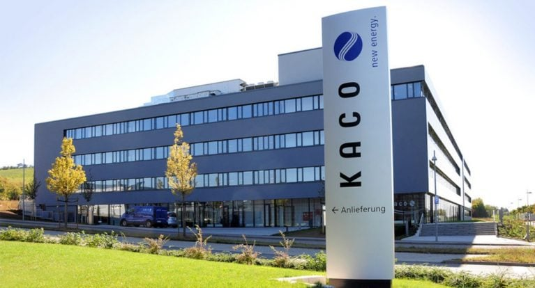 Thương hiệu biến tần năng lượng mặt trời KACO