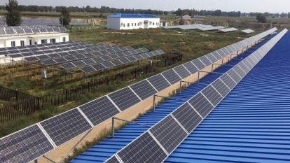 Điện mặt trời và nông nghiệp ở Châu Á