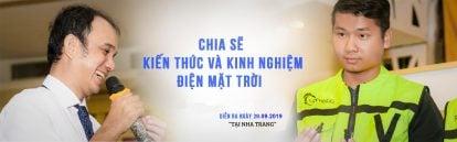 Khóa học điện mặt trời từ A->Z Miễn phí tại Nha Trang