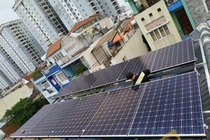 Lắp đặt hệ thống điện năng lượng mặt trời nối lưới công suất 3.25 kWp tại TÂN PHÚ, TPHCM