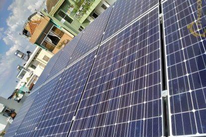 Lắp đặt hệ thống điện năng lượng mặt trời nối lưới công suất 3.25 kWp Tại Tân Bình TPHCM