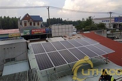 hệ thống điện mặt trời nối lưới 5.18 kWp ĐỒNG NAI
