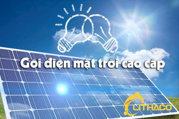 gói điện mặt trời cao cấp