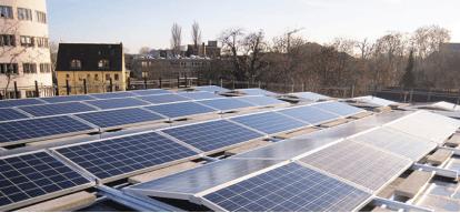 Điện mặt trời mái nhà kênh sinh lời hấp dẫn