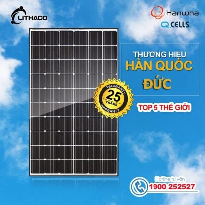 Pin năng lượng mặt trời Hanwha Q-Cells 340P