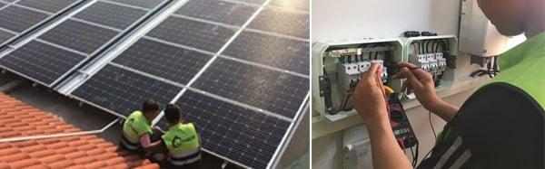 Điện mặt trời rất hiệu quả cho hộ kinh doanh