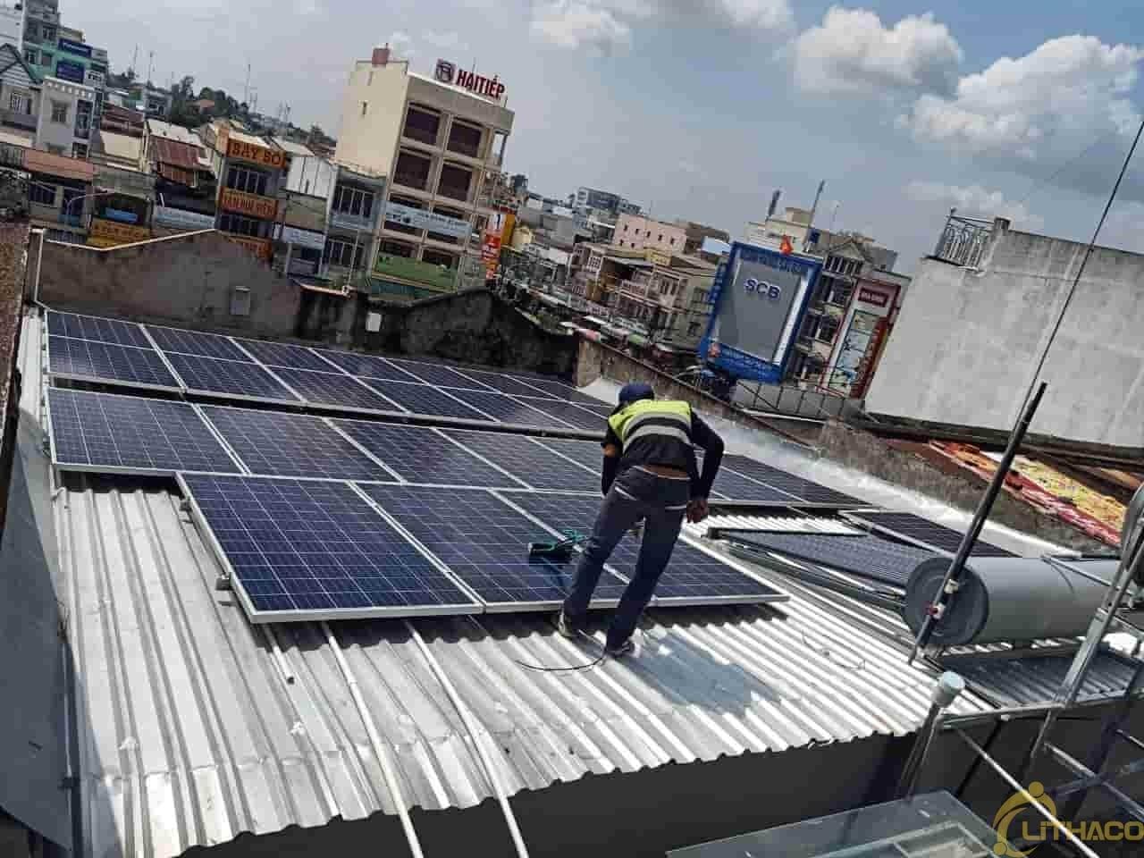 điện mặt trời cho tiệm vàng