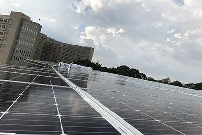 Lắp đặt hệ thống điện năng lượng mặt trời nối lưới công suất 20.16 Kwp - 3 Pha_QCELLS tại TpHCM