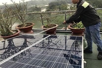 Lắp đặt hệ thống điện năng lượng mặt trời nối lưới công suất 6.555 Kwp - 1 Pha_QCELLS tại TPHCM