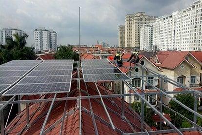 Lắp đặt hệ thống điện năng lượng mặt trời nối lưới công suất 10.36 kWp tại Bình Chánh, TPHCM