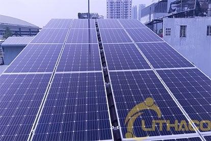 Lắp đặt hệ thống điện năng lượng mặt trời nối lưới hệ 10,44kwp - 3 pha tại Quận 7 7