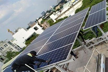 Lắp đặt hệ thống điện năng lượng mặt trời nối lưới công suất 5.180 kWp - 1P