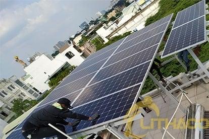 Lắp đặt hệ thống điện năng lượng mặt trời nối lưới công suất 5.180 kWp - 1P 10